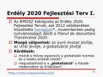 erd ly 2020 fejleszt si terv i