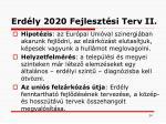 erd ly 2020 fejleszt si terv ii