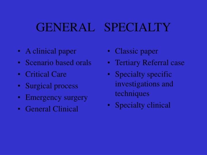 A clinical paper
