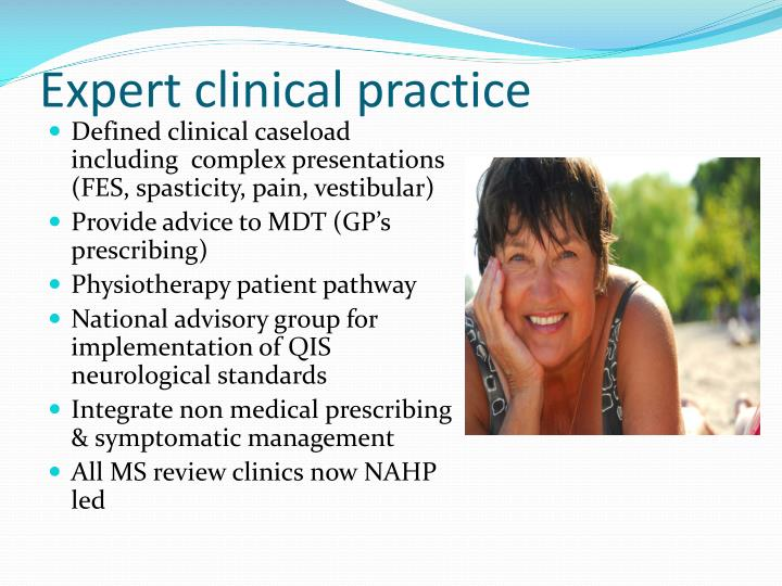 Expert clinical practice