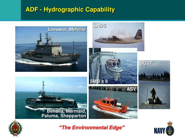 ADF - Hydrographic Capability