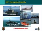 adf hydrographic capability