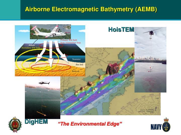 Airborne Electromagnetic Bathymetry (AEMB)