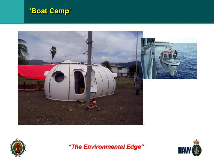 'Boat Camp'