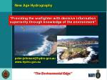 new age hydrography