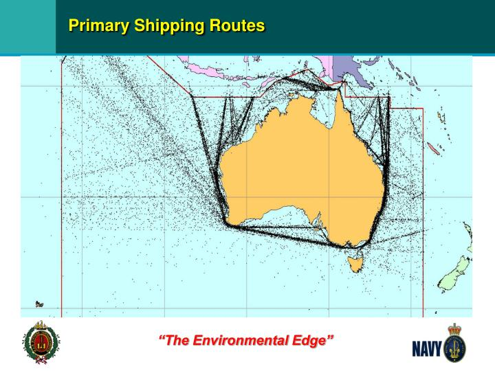 Primary Shipping Routes