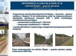 modernizacja linii kolejowej e 20 odcinek rzepin granica pa stwa ispa fs 2000 pl 16 pt 003
