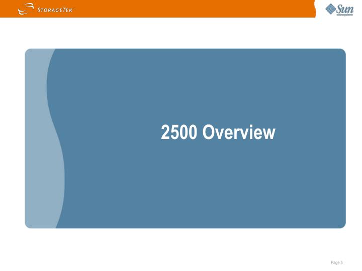 2500 Overview