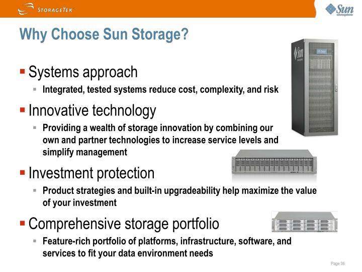 Why Choose Sun Storage?