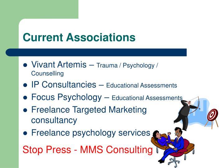 Current Associations