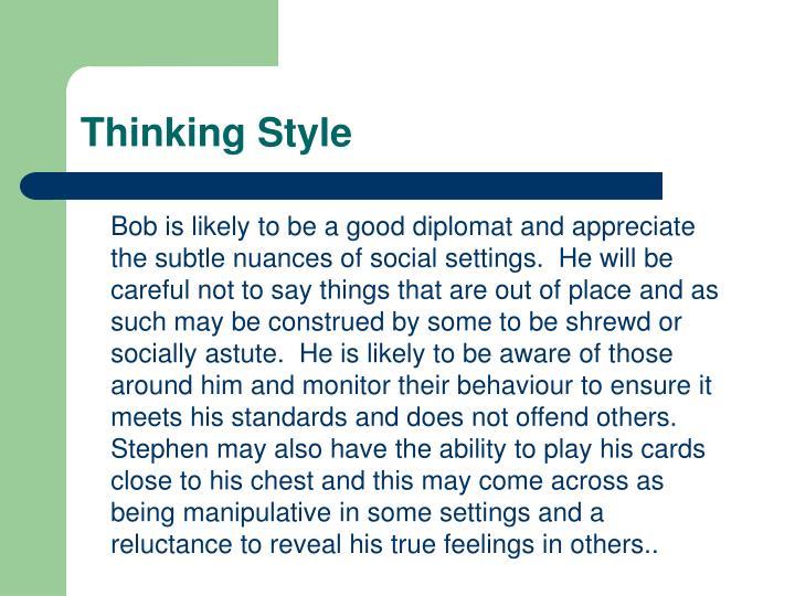 Thinking Style