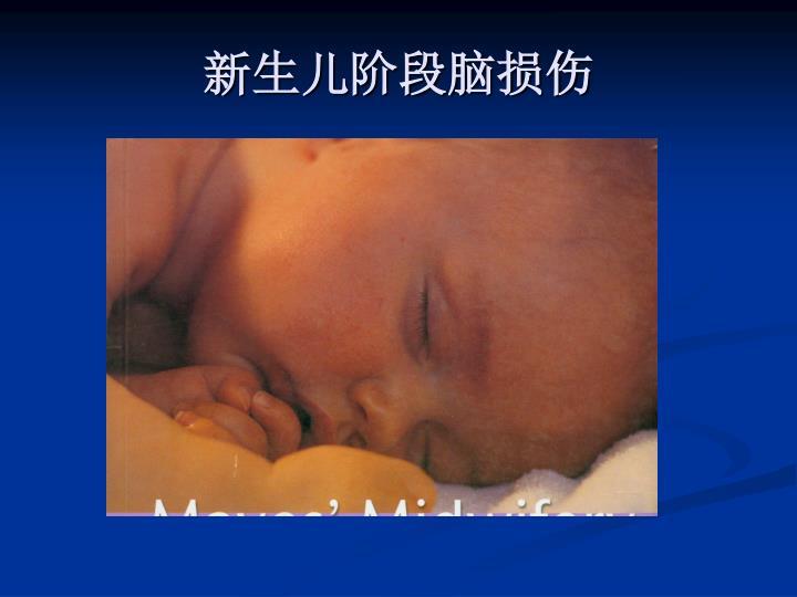 新生儿阶段脑损伤