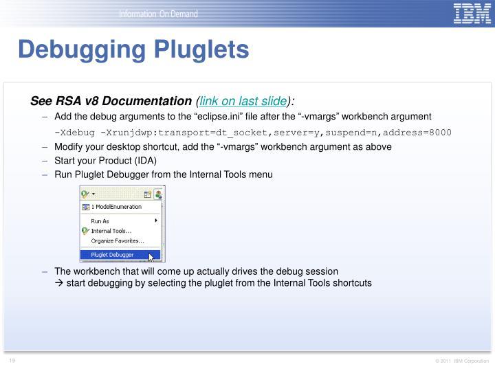 Debugging Pluglets