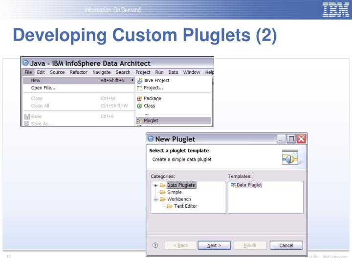 Developing Custom Pluglets (2)