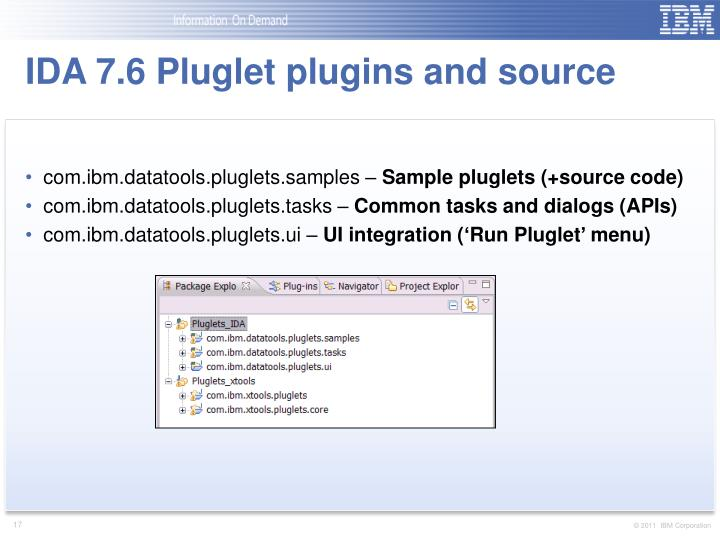 IDA 7.6 Pluglet plugins and source