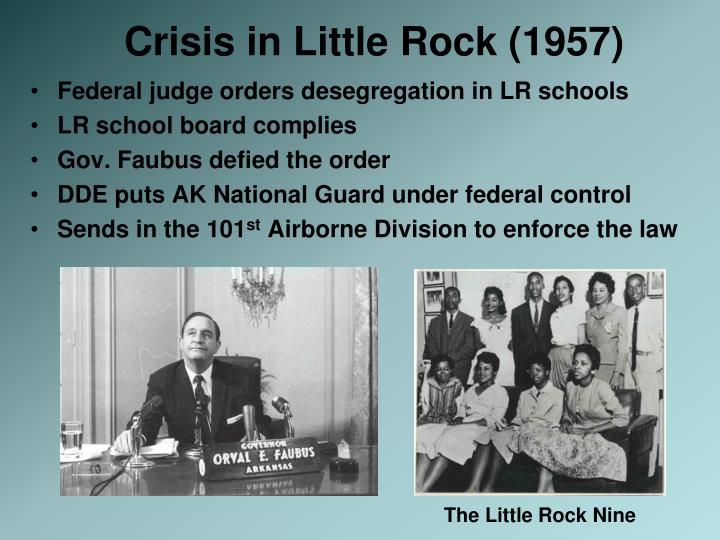 Crisis in Little Rock (1957)