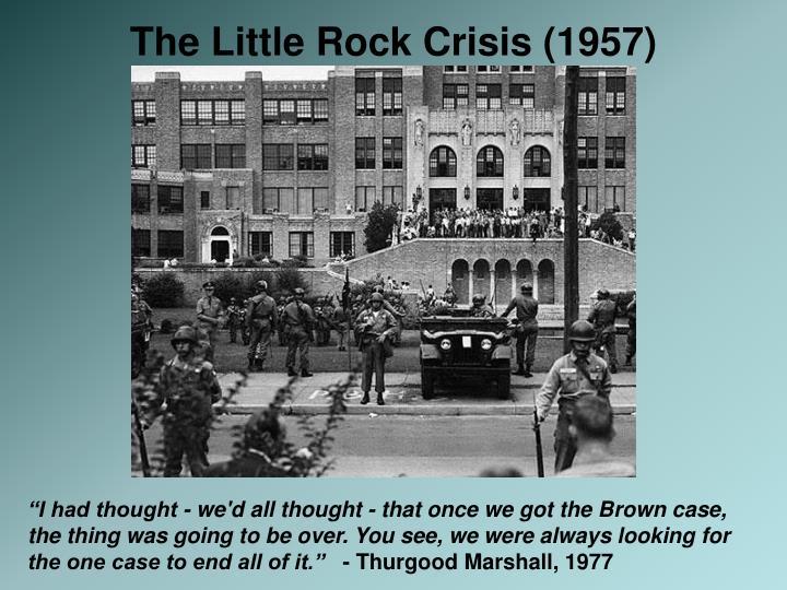 The Little Rock Crisis (1957)