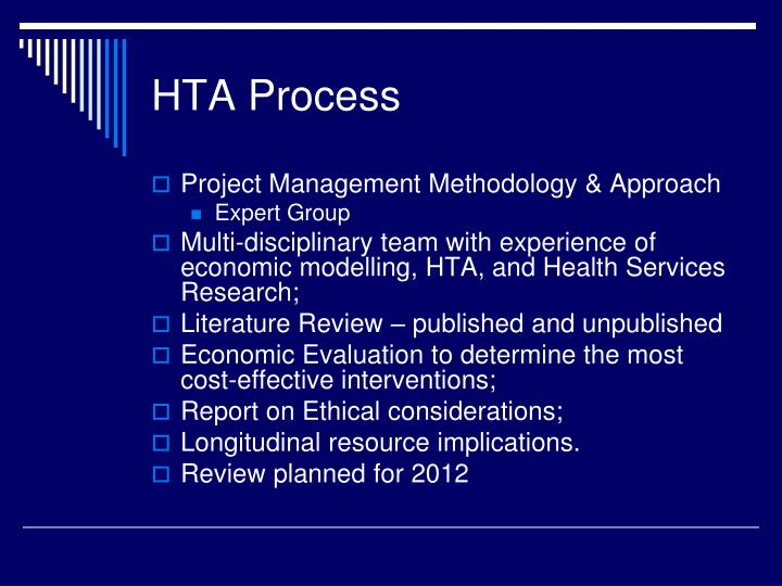 HTA Process
