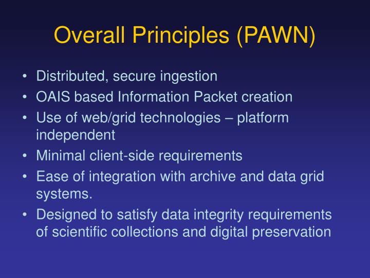Overall Principles (PAWN)