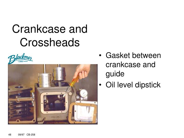 Crankcase and Crossheads