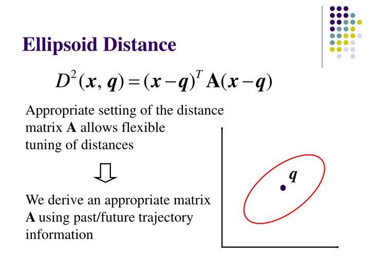 Ellipsoid Distance