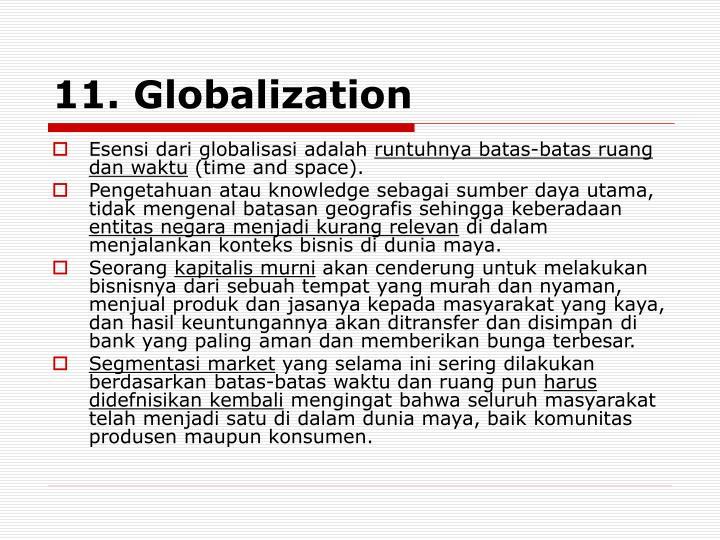 11. Globalization