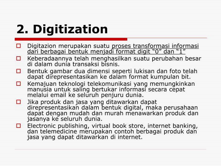 2. Digitization