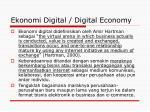 ekonomi digital digital economy