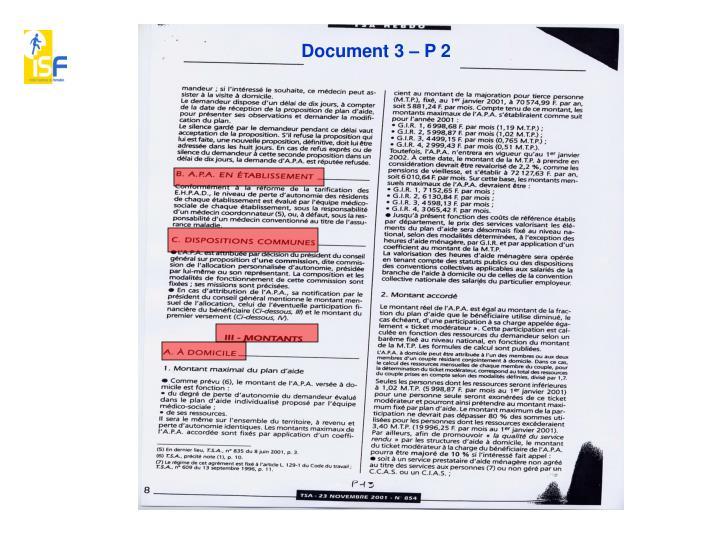 Document 3 – P 2