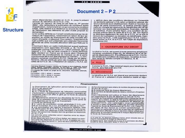 Document 2 – P 2