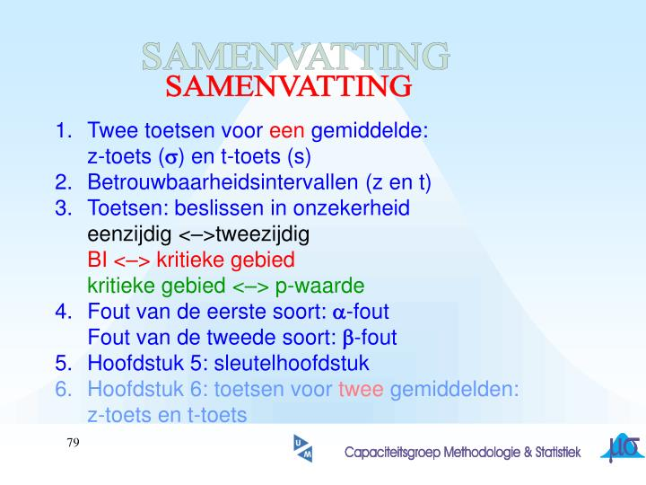 SAMENVATTING