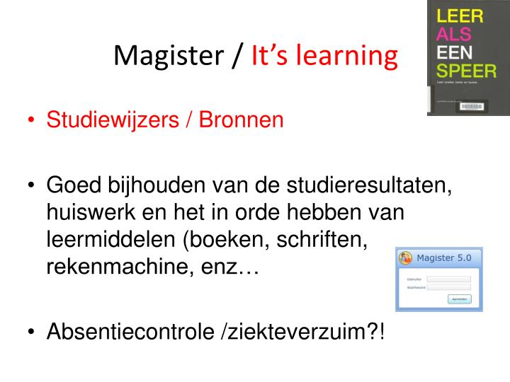 Magister /