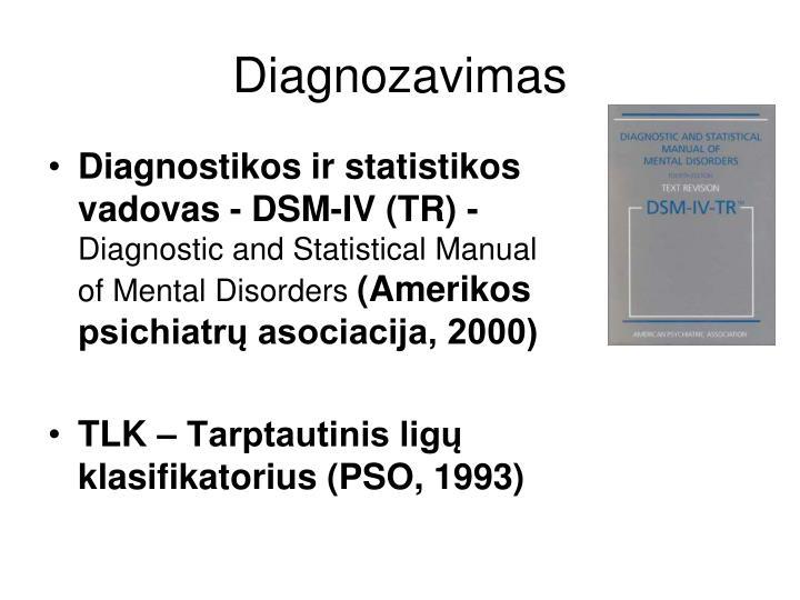 Diagnozavimas