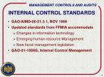 internal control standards