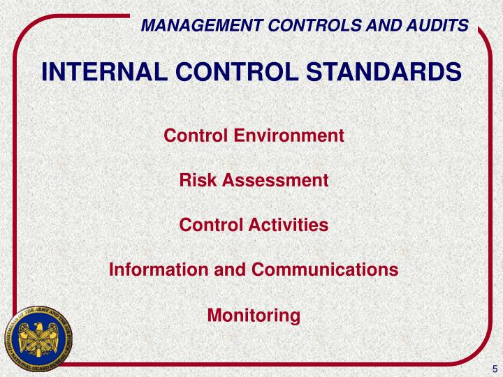 INTERNAL CONTROL STANDARDS