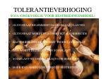 tolerantieverhoging soja ongevoelig voor bestreidingsmiddel