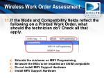 wireless work order assessment10