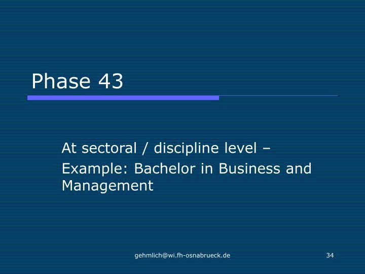 Phase 43