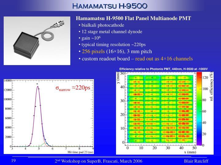 Hamamatsu H-9500