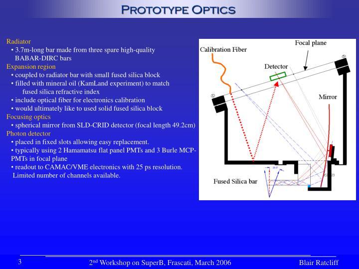 Prototype Optics