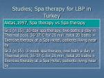 studies spa therapy for lbp in turkey2