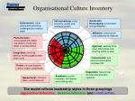 organisational culture inventory
