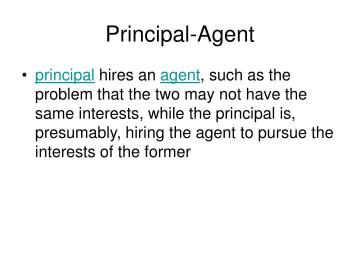 Principal-Agent