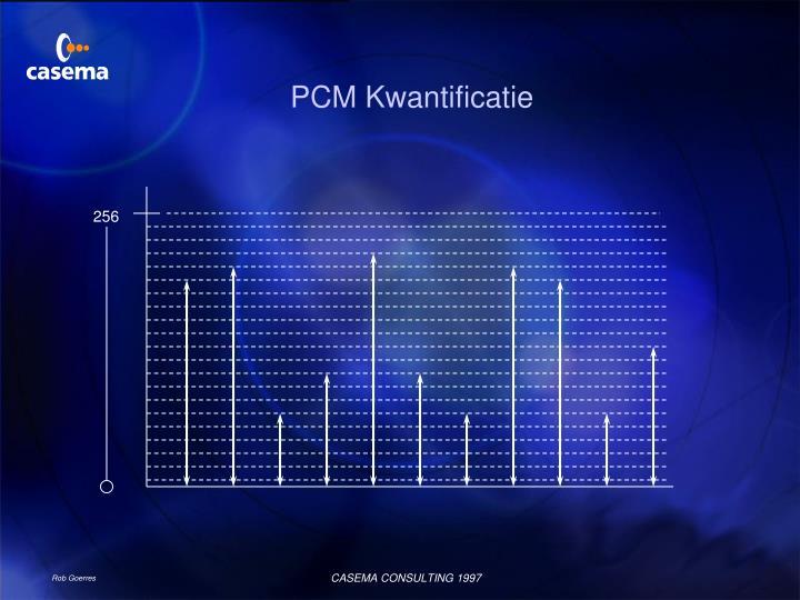 PCM Kwantificatie