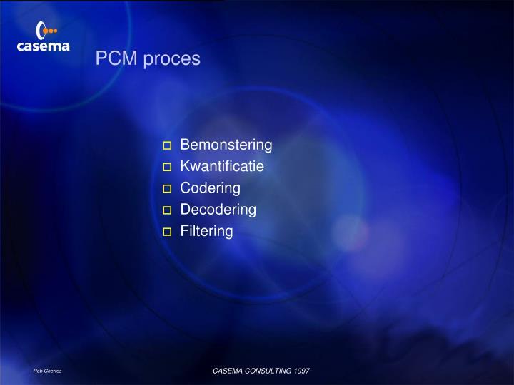PCM proces