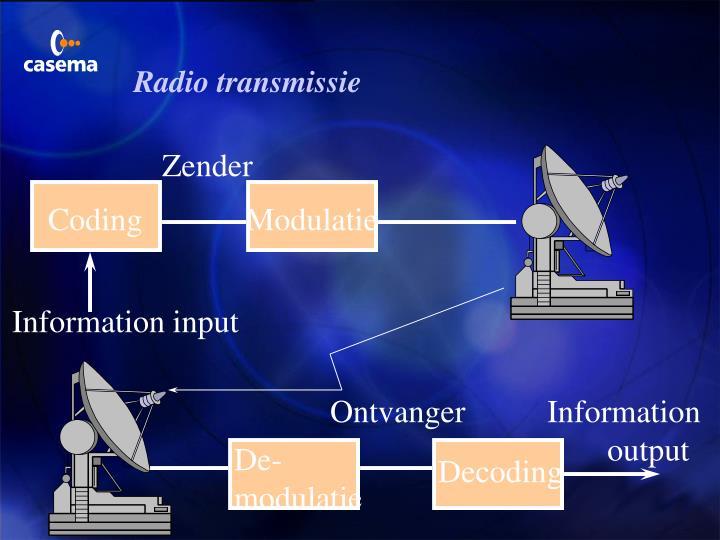 Radio transmissie