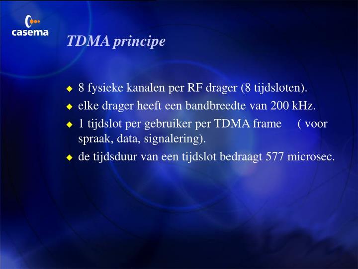 TDMA principe