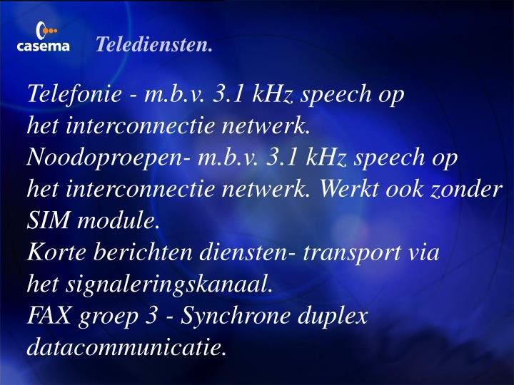 Telediensten.