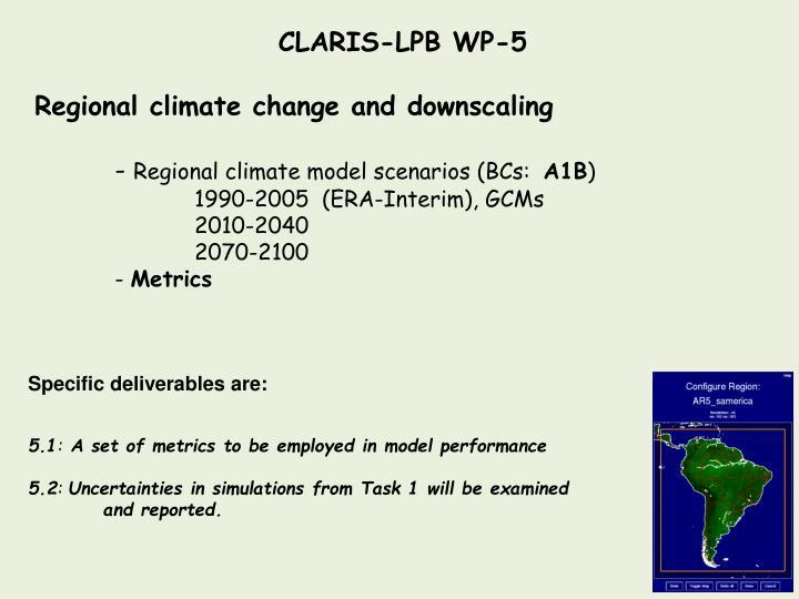 CLARIS-LPB WP-5