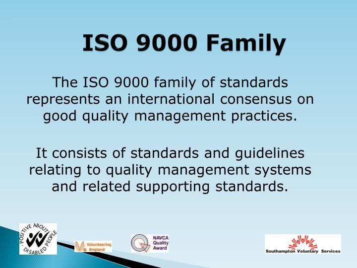 ISO 9000 Family